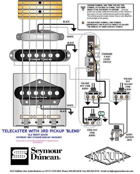 guitar blend pot wiring diagram blend free
