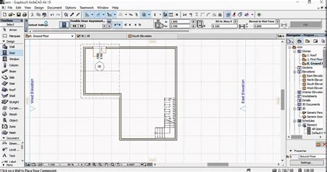 how to get floor plans 5mins plan using archicad 19