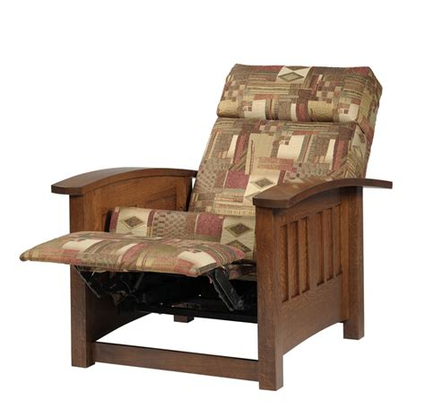 mission style recliner fabric mission seating 6410 recliner ohio hardwood furniture