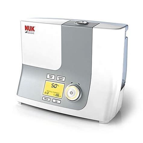 bed bath beyond humidifier nuk 174 powered by bionaire 174 warm and cool mist ultrasonic