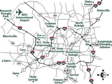 map of raleigh nc getting here raleigh
