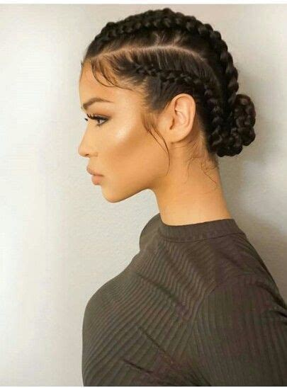 hairstyles that look flatter on sides of head 25 best ideas about tight braids on pinterest tight