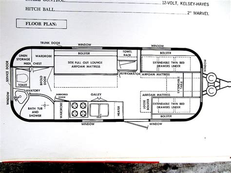 airstream floor plans airstream sovereign floor plan here s an image of the