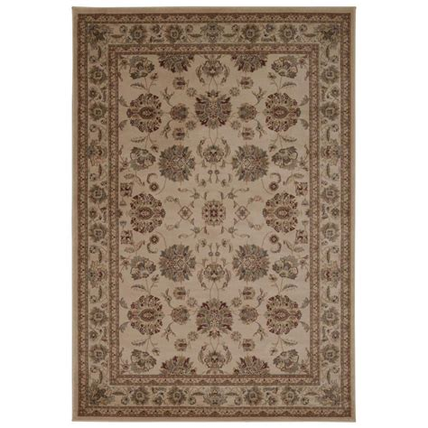 Area Rugs Overstock Nourison Overstock Ararat Ivory 7 Ft 10 In X 10 Ft 6 In Area Rug 254900 The Home Depot