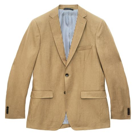 gant solid linen blazer blazers from gibbs menswear uk
