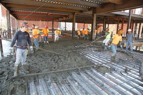 Second floor concrete pour   ?Building? Wallis Annenberg Hall