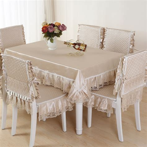 table chair covers top grade quilting dining table cloth chair covers cushion