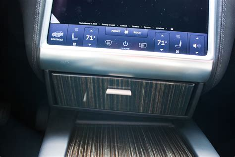 Tesla Model S Sound System Review Review Tesla Model X Cubby Compartment By Evannex