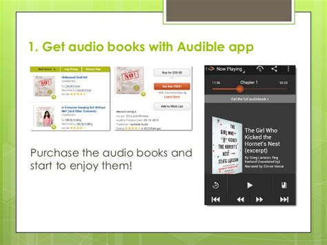 android audio books listen to audio books on android
