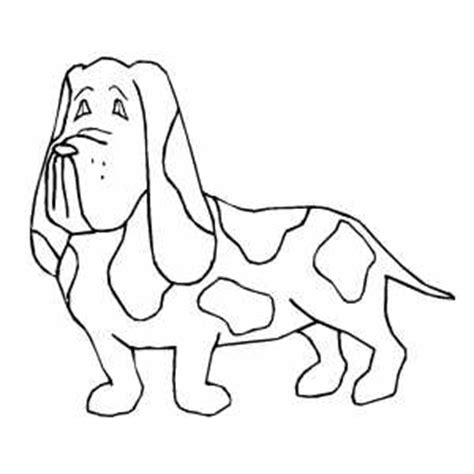 dog ear coloring page dog with big ears coloring page dogs5 learn how to draw