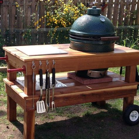 Build a barbecue grill table   DIY projects for everyone!