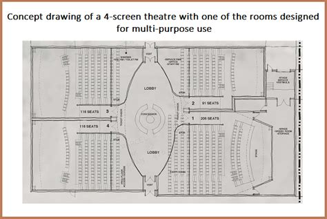 movie theatre floor plan merritt movie theatre site plan nicola valley community