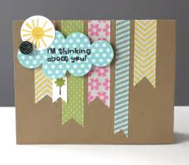 ideas for washi cards by