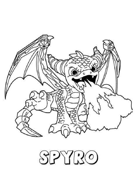 Coloring Page 24 by Skylanders Giants Coloring Pages Free Printable