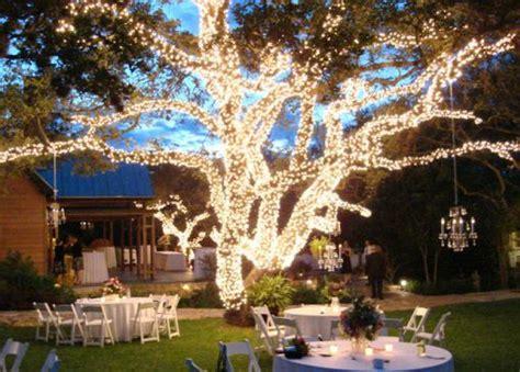 outdoor wedding lighting decoration ideas r 233 ception de mariage et pourquoi pas en plein air lieu