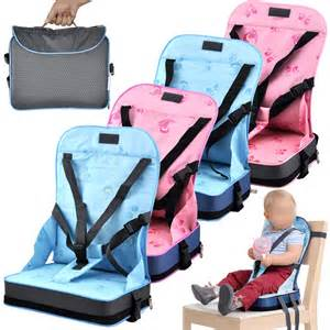 uk new portable baby booster seat 5 straps travel high