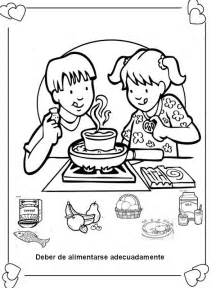 Eating coloring pages printables eating healthy foods coloring