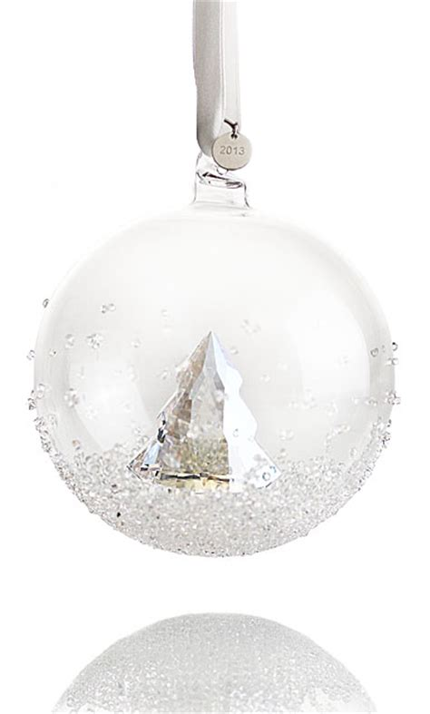swarovski christmas ball ornament annual edition 2013