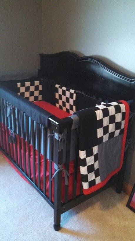 racing themed baby bedding maximus walker davis pinterest