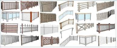 Porch Banisters Instant Fence And Railing Sketchup Extension Warehouse