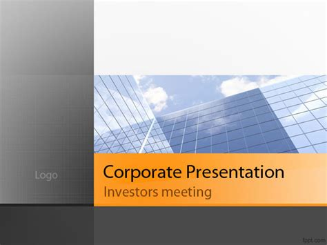 Free Best Powerpoint Templates For Business Presentations Company Presentation Template Ppt
