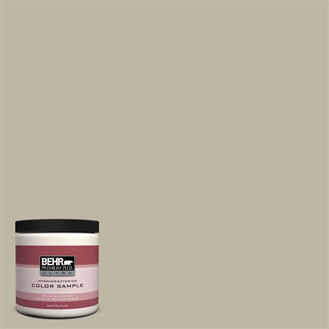 behr premium plus ultra 8 oz 780d 4 koala interior exterior paint sle 780d 4u the