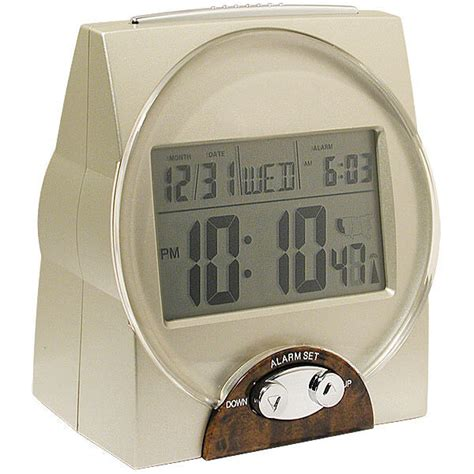talking time month and date alarm clock ebay