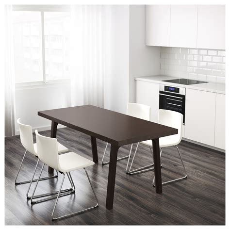clear dining room table ikea vastanby table the clear lacquered surface is easy to