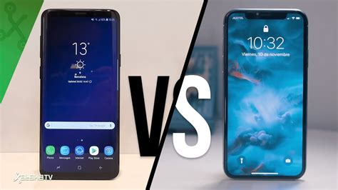 Iphone X Vs Samsung Galaxy S10 by Samsung Galaxy S9 S9 Vs Iphone X Vuelve La Gran Batalla