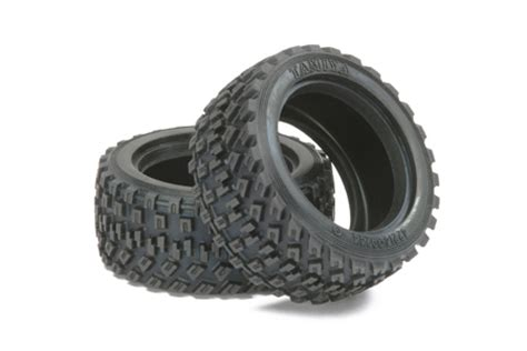 Rc 2pcs Ban Velg Tire With Wheel Set Sand Type For 1 8 1 10 1 12 Hex17 tamiya 51427 m chassis rally block tires 2pcs samirc