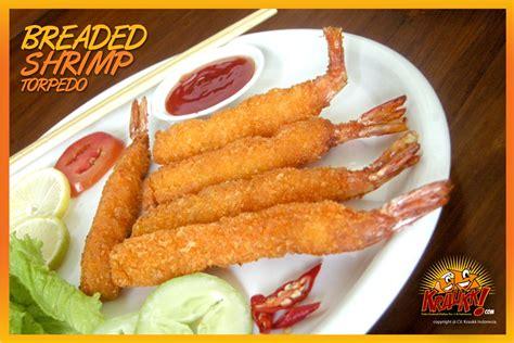 Ebi Katsu Naget Ayam Frozen Food Ayam produk breaded shrimp torpedo frozen food kraukk lauk