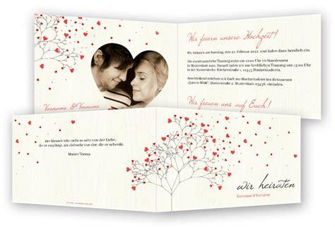 Hochzeitseinladung Muster by Vorlage Hochzeit Einladungen Feinekarten