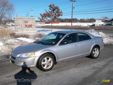 dodge stratus 2003 2003 dodge stratus sxt sedan in bright silver metallic