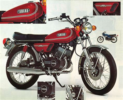 1975 yamaha rd125 motorcycle review and galleries