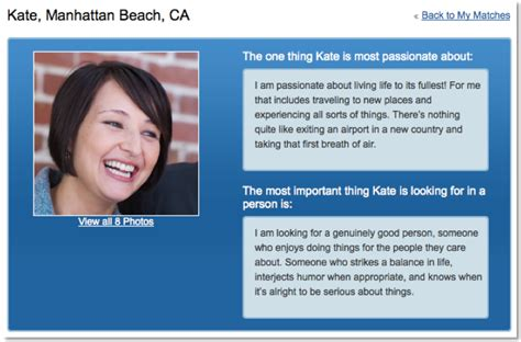 blogger profile eharmony s profile page gets a makeover
