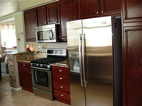 restain kitchen cabinets restaining kitchen cabinets black appliances kitchen