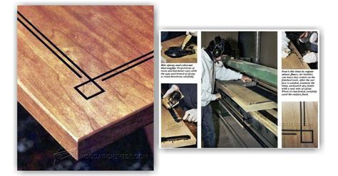 epoxy inlay techniques woodarchivist