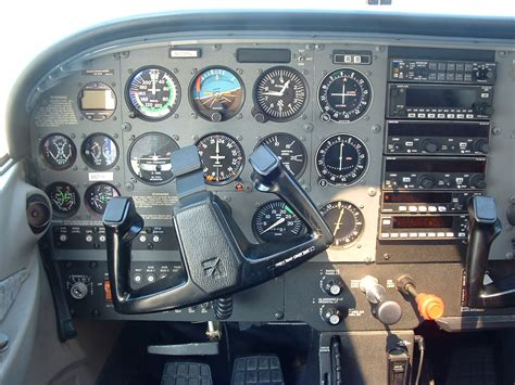 Cessna 172 Cockpit Panel Manteresting