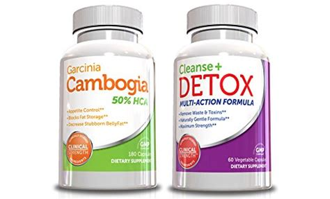 Detox Gene by Best Garcinia Cambogia Weight Loss Kit W Colon Cleanse