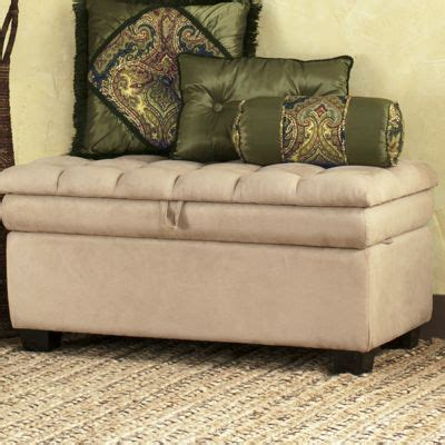 pillow top bench pillow top bench from seventh avenue dw70604
