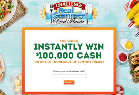 Real Online Sweepstakes - 100 000 real summer sweepstakes enter online sweeps howldb