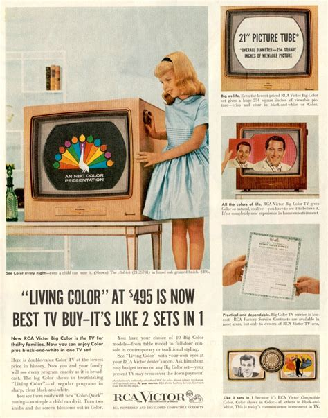 color tv show 1962 farbfernseher rca 21 ct 7855u quot the aldrich quot chassis ctc 5
