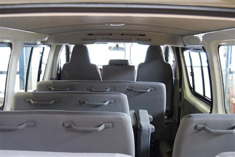 Toyota Hiace Seating Capacity Toyota Hiace Commuter Seating Capacity Www Pixshark