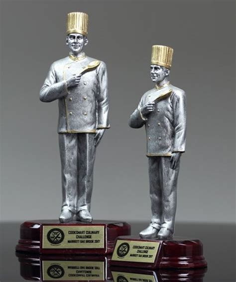traditional chef traditional chef trophy trophies corporate awards