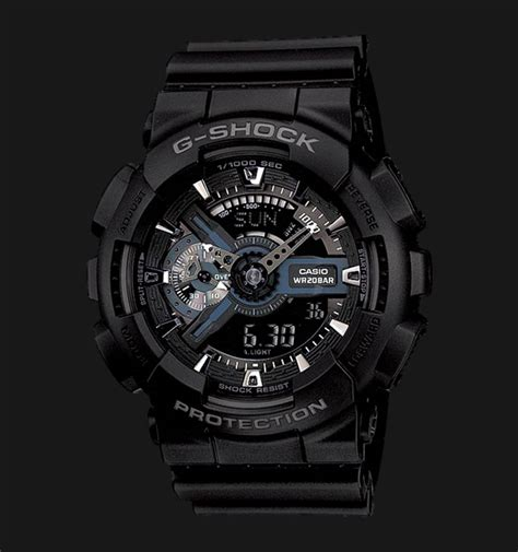 Jam Tangan Analog Digital Pria G Shock Ga 4000 1b Original casio g shock ga 110 1bdr analog digital water resistant