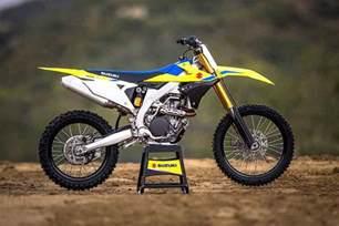Suzuki 450 Dirt Bike 2018 Suzuki Rm Z450 Motocross Bike Unveiled Motorcycle News