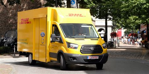 ford electric truck ford unveils its electric truck made with dhl electrek