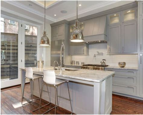 Premade Kitchen Cabinets by Repose Gray Kitchen Cabinets Quicua Com