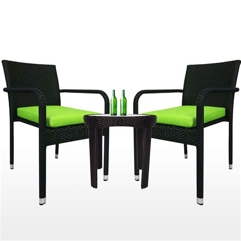2 Chair Patio Set Jardin 2 Chair Patio Set Green Cushion 2 Year Warranty Furniture Home D 233 Cor Fortytwo