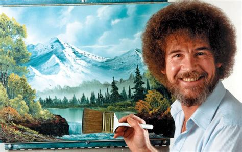 bob ross painting tv happy trees twitch honors bob ross with of